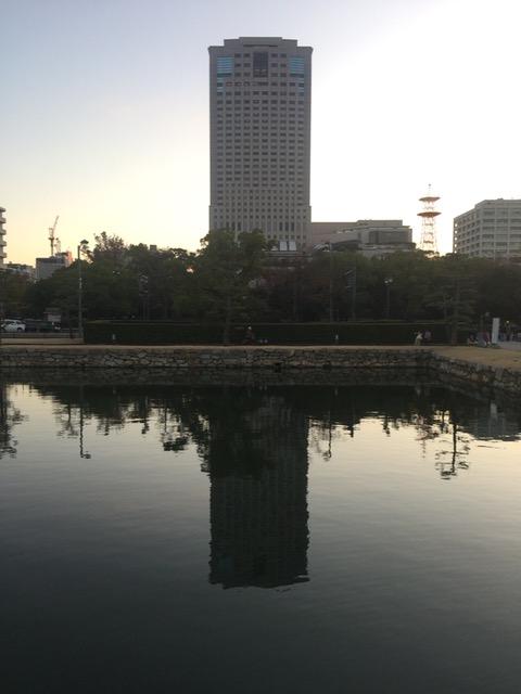 昨日の広島城
