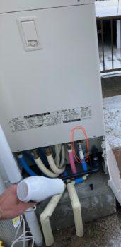 給湯器の凍害対策